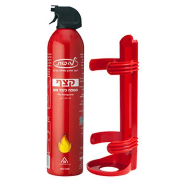 """מטף כיבוי אש המכיל 0.5 ק""""ג אבקה מתאים למטבח ביתי"""