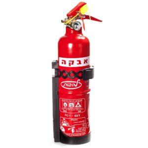 """מטף כיבוי אש המכיל 1 ק""""ג אבקה"""